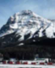 alberta canada rocky mountains rockies winter