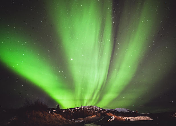 northern lights aurora borealis whitehorse yukon canada march