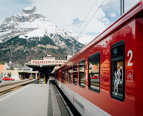 switzerland titlis mount train