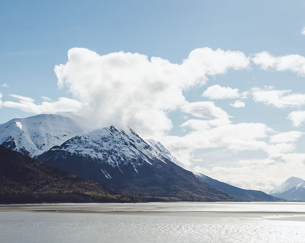 """turnagain arm"" anchorage alaska ""chugach state park"""