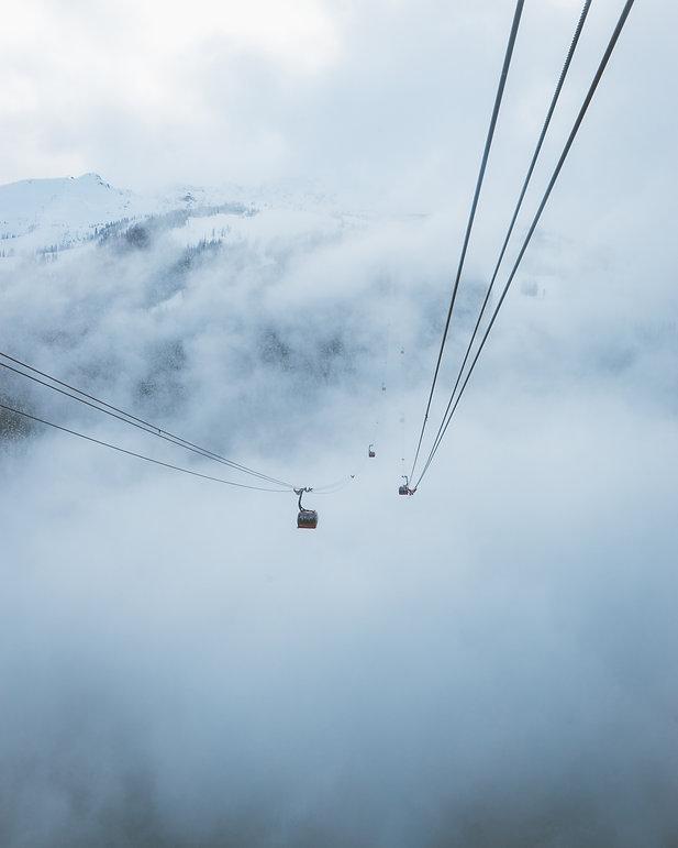 whistler peak2peak peak 2 blackcomb vancouver gondola canada winter