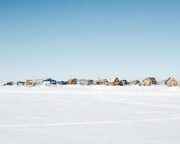 tuktoyaktuk nwt winter inuvik arctic canada ice road