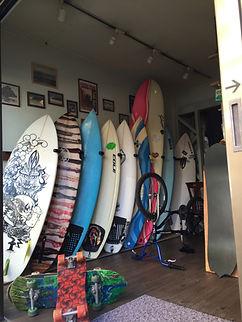 札幌T&Iサーフショップでは各種サーフボード在庫あります。