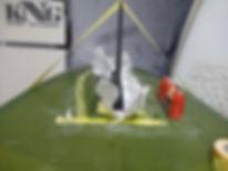 札幌T&Iサーフショップでのリペアでフィンもバッチリ直ります