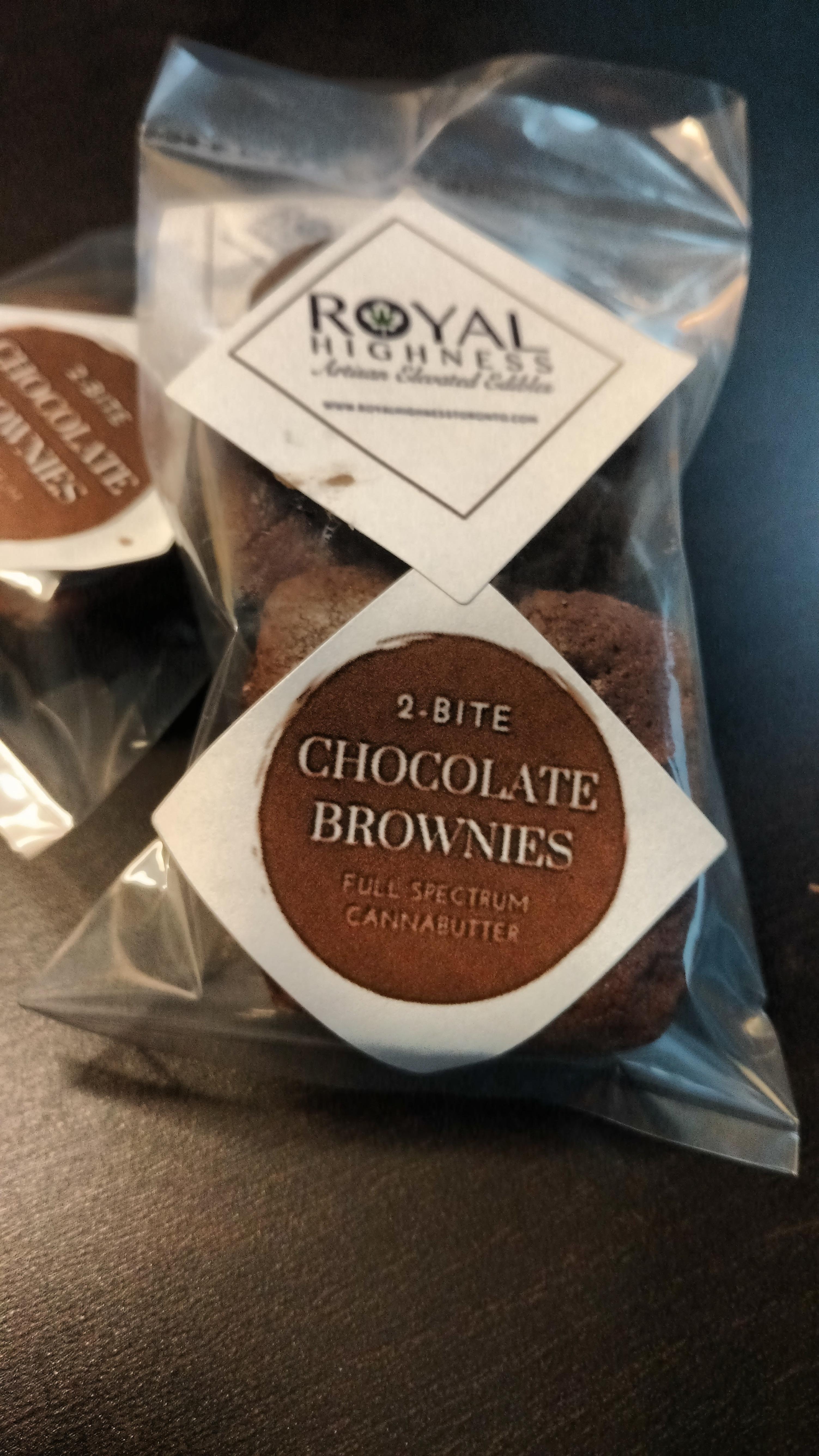 2 Bite Brownies