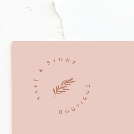 Botanical Logo & Brand Identity Design | Feminine Brand Identity Design | Premade Logo & Branding Kits for Female Businesses, Creatives and Wellbeing Solopreneurs