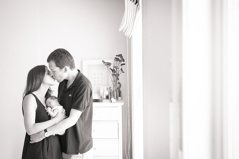 A natural newborn photography shoot | Wimbledon newborn photographer