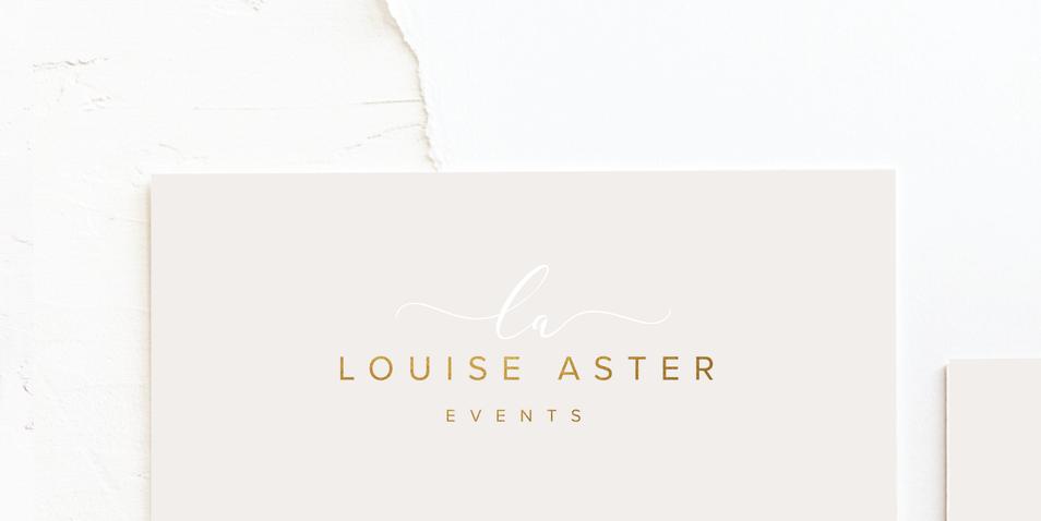 Wedding Planner & Event Organiser Business Logo | Feminine Brand Identity Design | Premade Logo & Branding Kits for Creatives and Wellbeing  Businesses