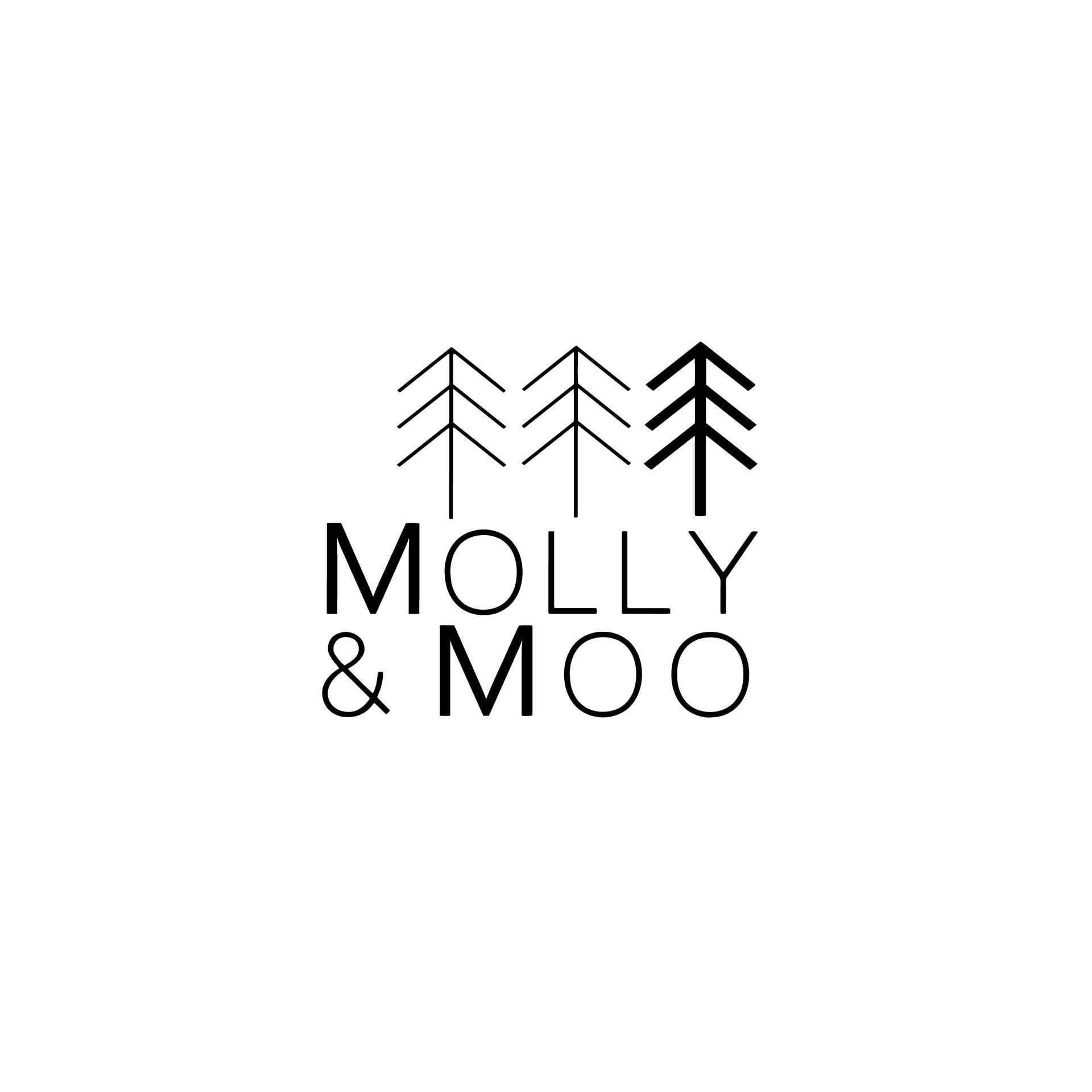 Molly & Moo Branding | Brand Identity Design by Fresh Leaf Creative