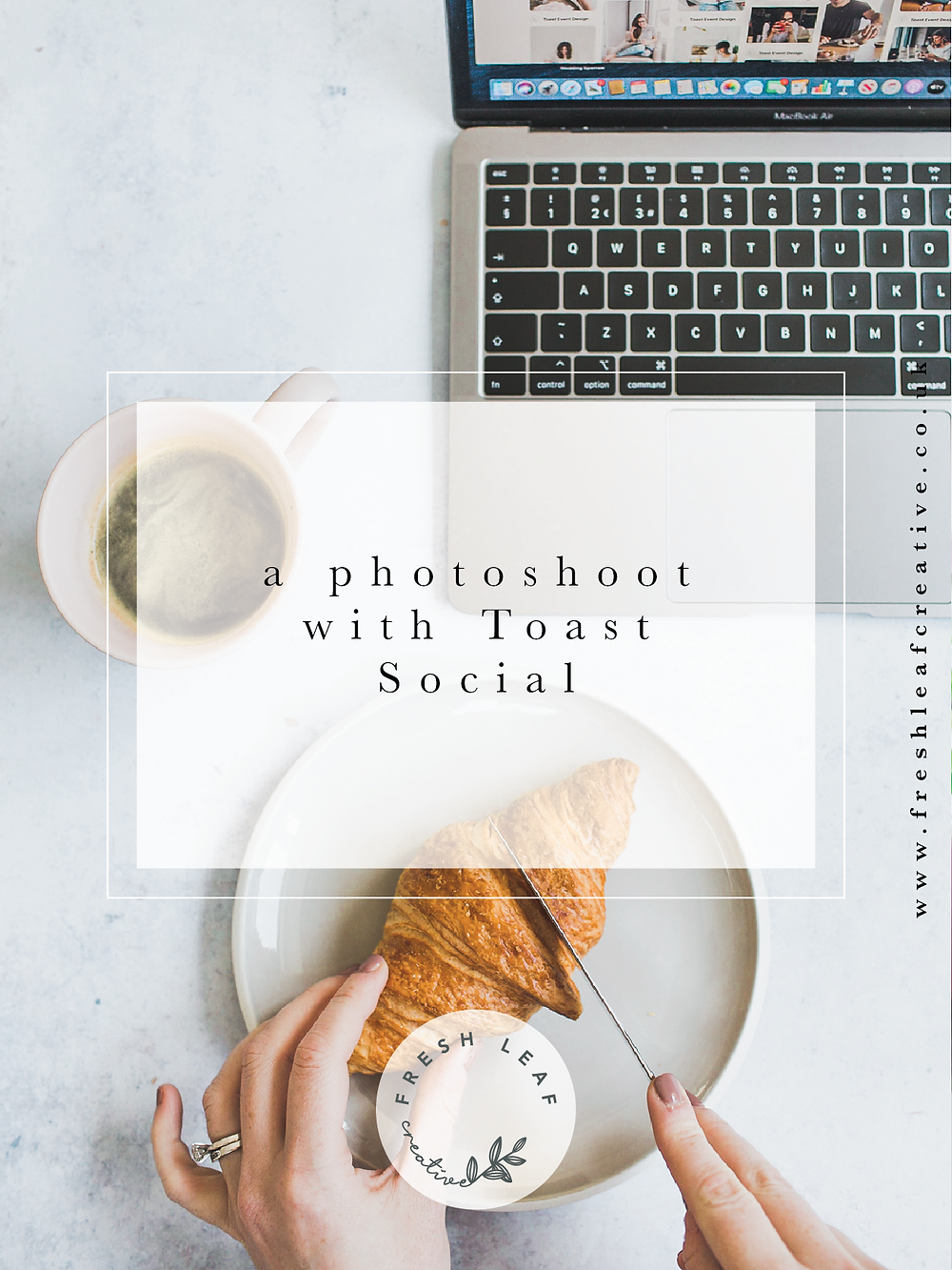 Personal Brand Photographer Dorset & Surrey | Brand Photography for Toast Social by Fresh Leaf Creative | Light & Airy Brand Photography Dorset & Surrey