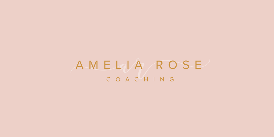 Coaching Business Logo | Feminine Brand Identity Design | Premade Logo & Branding Kits for Creatives and Wellbeing  Businesses