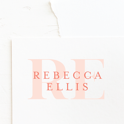 Coaching Business Logo   Feminine Brand Identity Design   Premade Logo & Branding Kits for Creatives and Wellbeing  Businesses