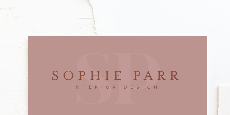 Interior Designer Branding & Logo   Feminine Brand Identity Design   Premade Logo & Branding Kits for Creatives and Wellbeing  Businesses