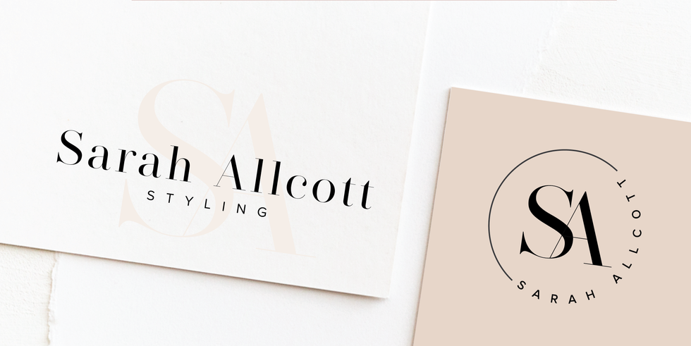 Elegant Logo & Brand Identity Design | Feminine Brand Identity Design | Premade Logo & Branding Kits for Female Businesses, Creatives and Wellbeing Solopreneurs