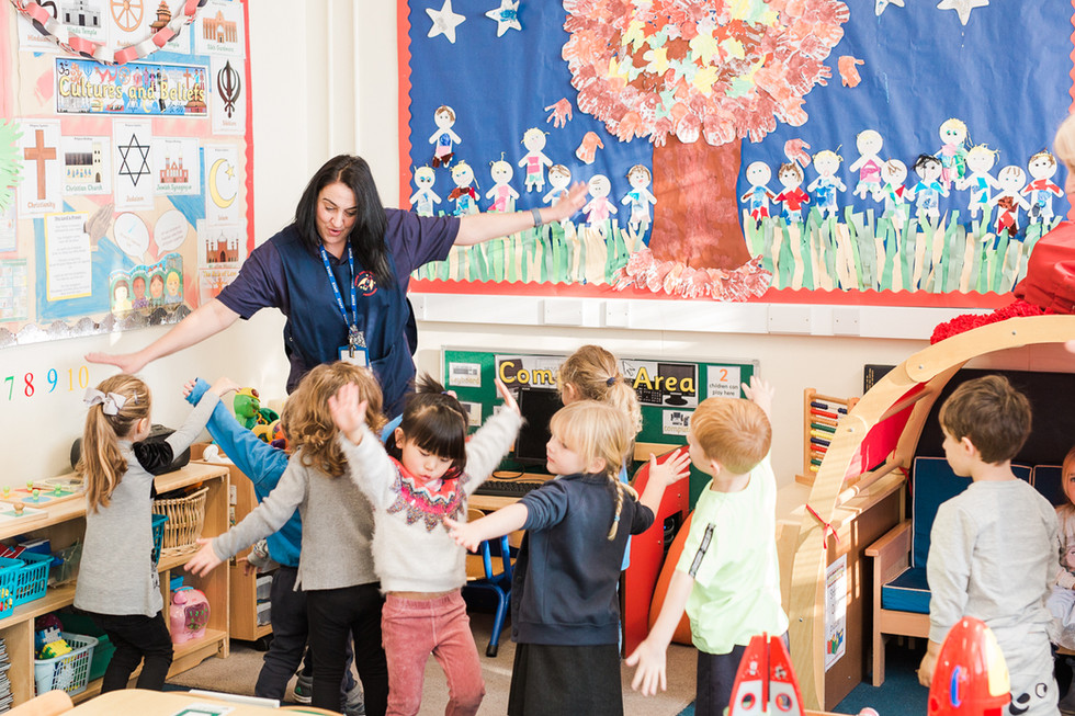 Young Explorers Pre-school & Nursery Cobham Surrey | Our dedicated team go the extra mile for our children and create a warm, happy and safe pre-school environment where they can flourish every day