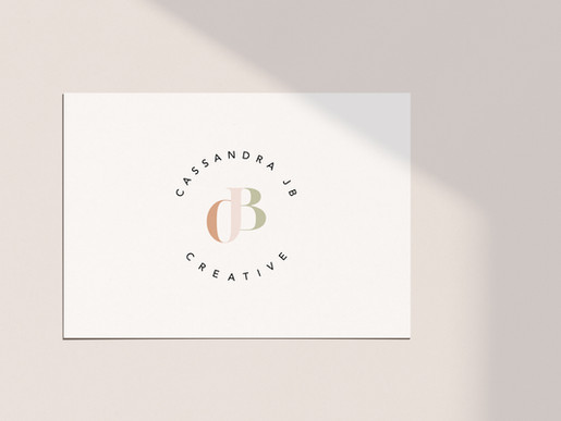 Dorset Brand Identity Designer | Brand Identity Design For Cassandra JB Creative