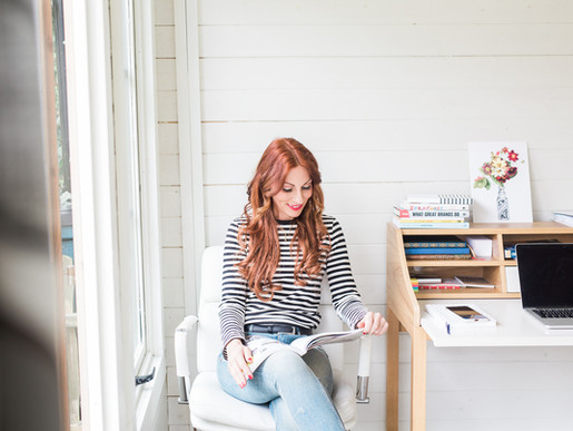 Dorset Brand & Commerical Photographer | Brand Photography for Little Red Writing Co.