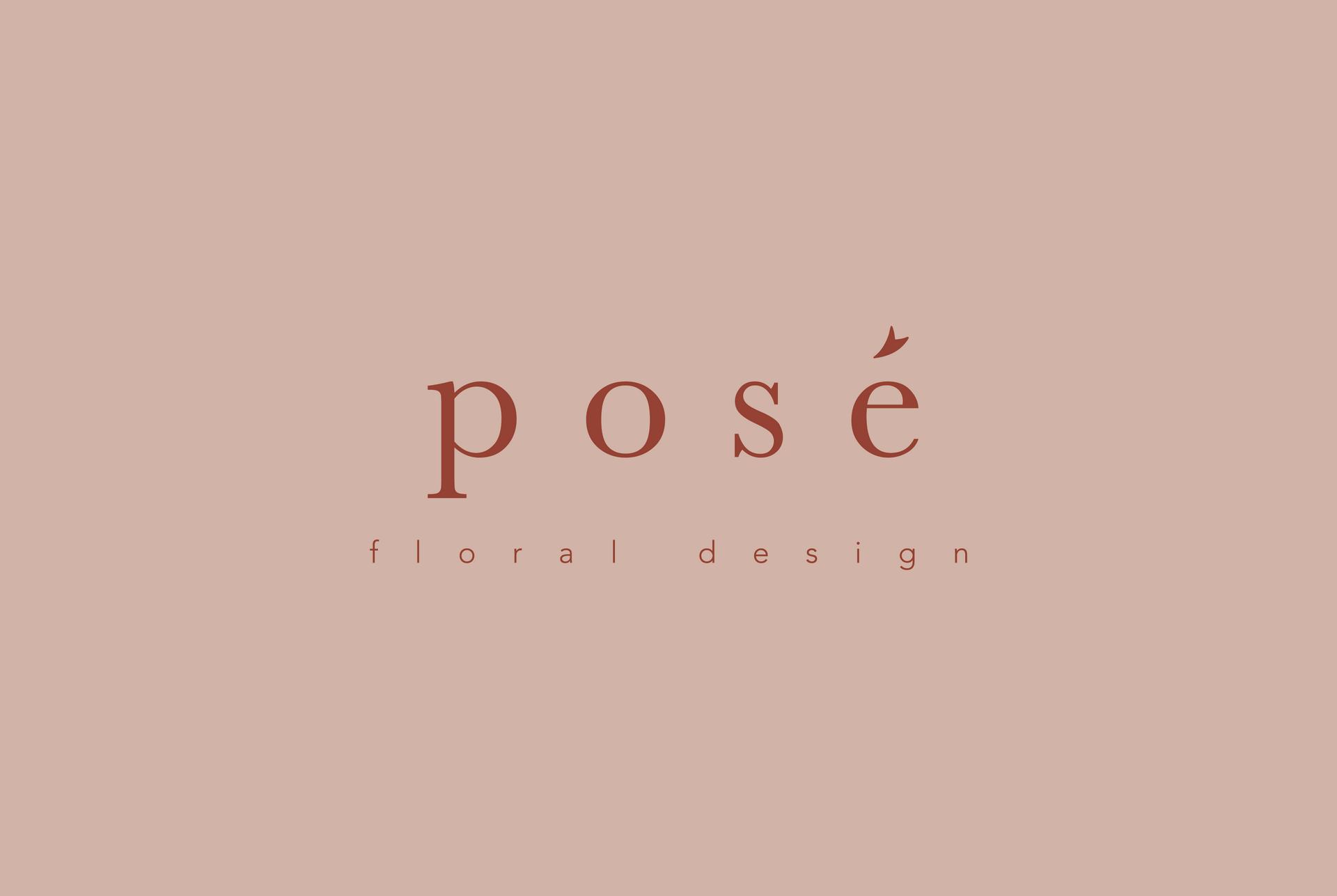 Pose Flowers Branding | Brand Identity Design by Fresh Leaf Creative