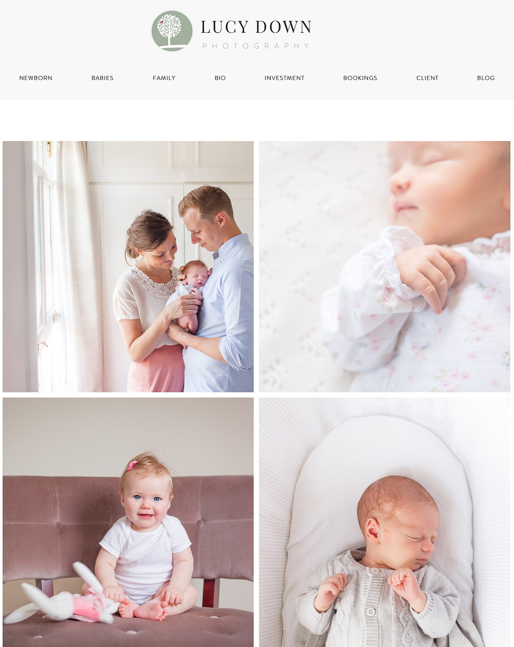 Newborn Photographer Surrey | Baby Photographer Surrey | Website Relaunch