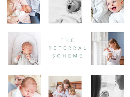 Client | My newborn & baby photography referral scheme