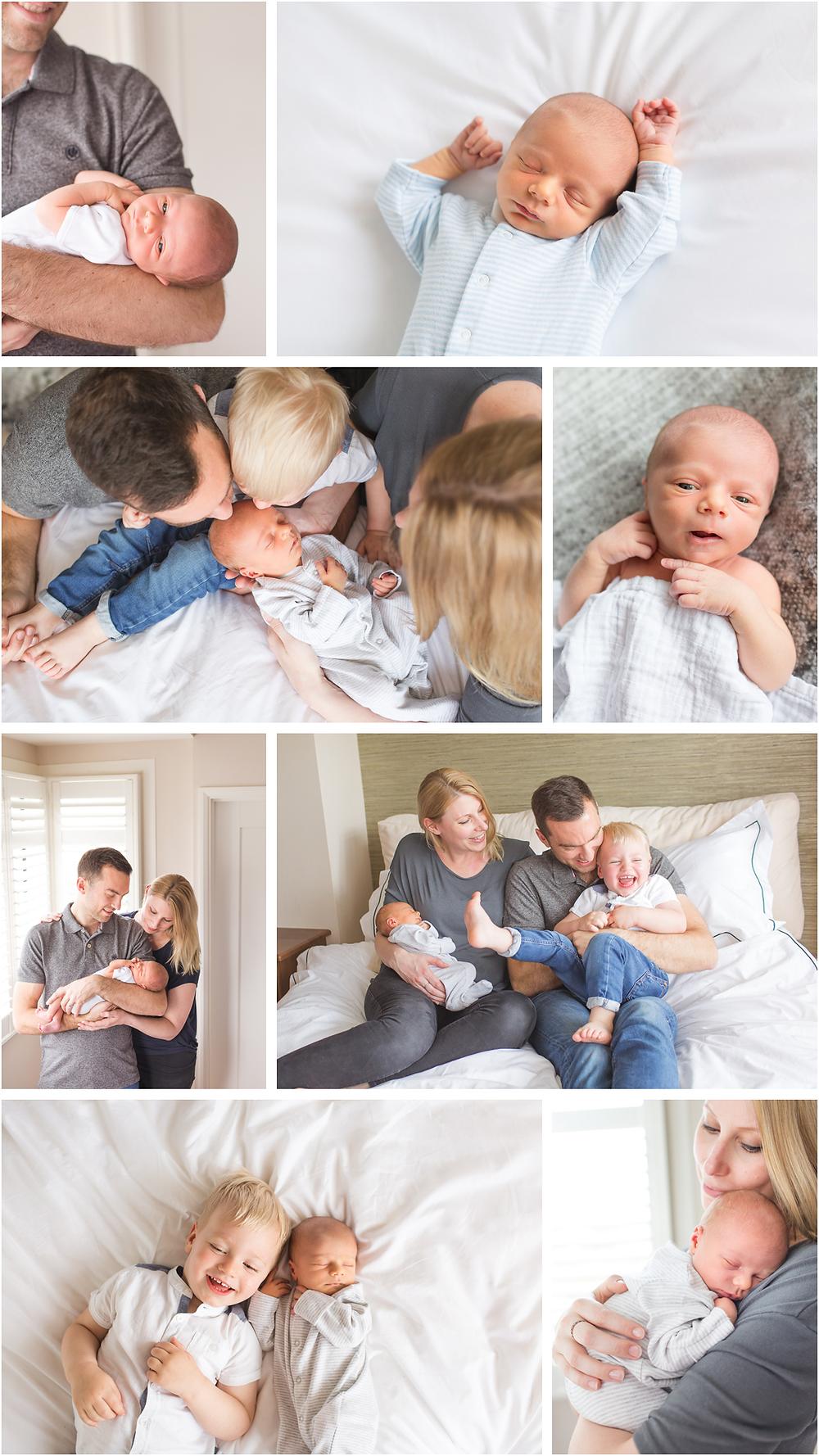In-home newborn photography session | Addlestone & Weybridge Newborn & Family Photographer