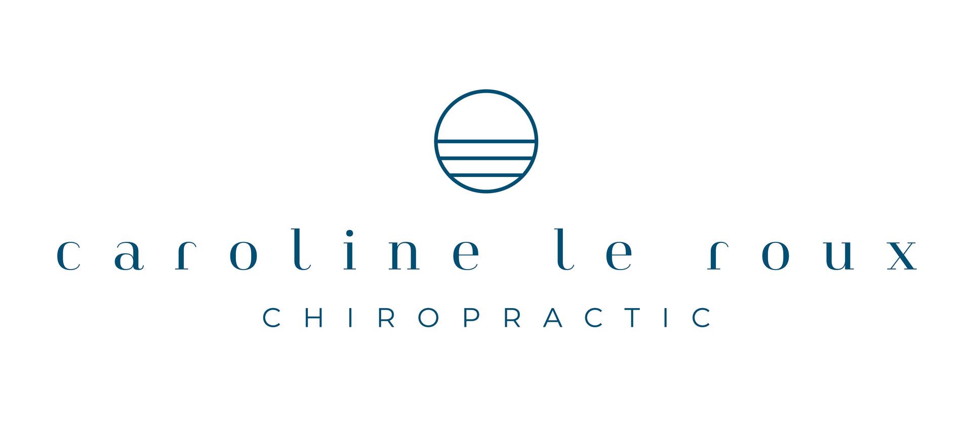 Caroline Le Roux Chiropractic Branding | Brand Identity Design by Fresh Leaf Creative