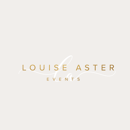Elegant Wedding Planner Business Logo | Feminine Brand Identity Design | Premade Logo & Branding Kits for Creatives and Wellbeing  Businesses