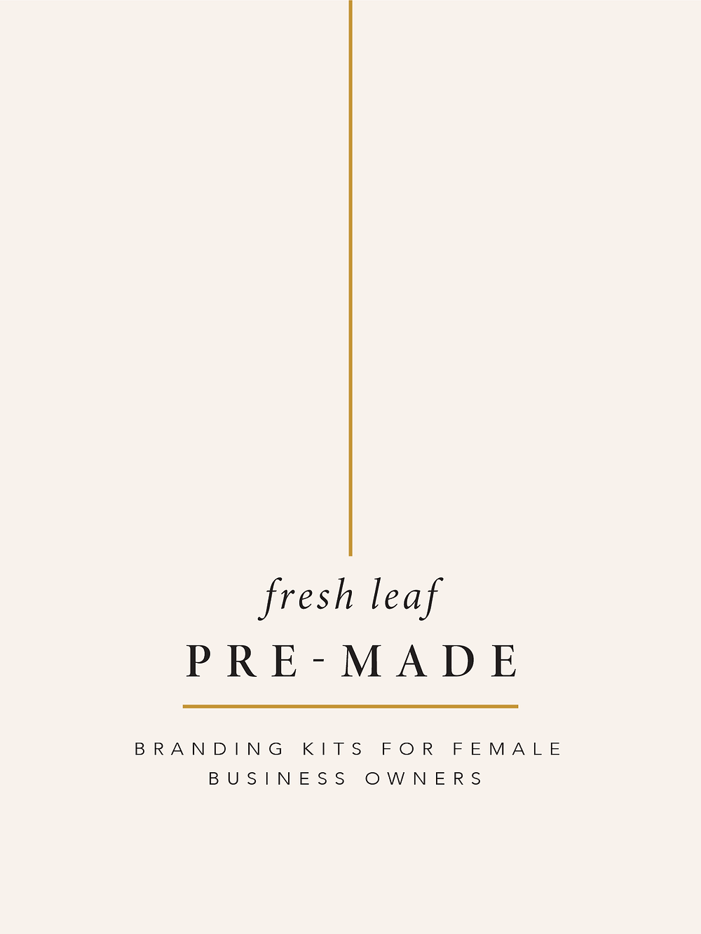 Premade Branding for Female Business Owners by Fresh Leaf Creative | Brand Identity Design & Brand Photographer Dorset & Surrey