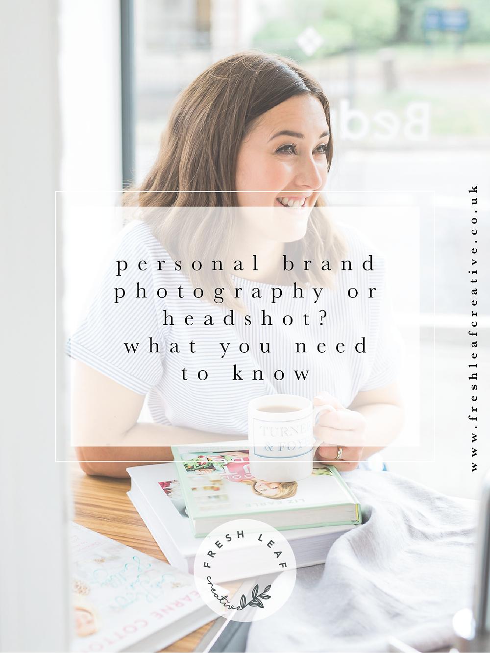 Business headshoot or personal brand photography shoot - which do you need? | Fresh Leaf Creative | Personal Brand Photographer Surrey