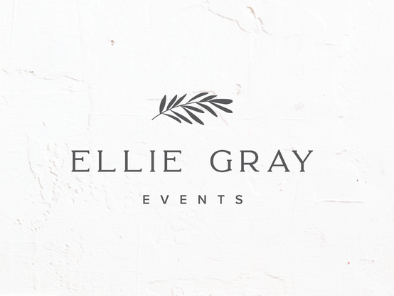 Event Planner Botanical Logo & Brand Identity Design   Feminine Brand Identity Design   Premade Logo & Branding Kits for Female Businesses, Creatives and Wellbeing Solopreneurs
