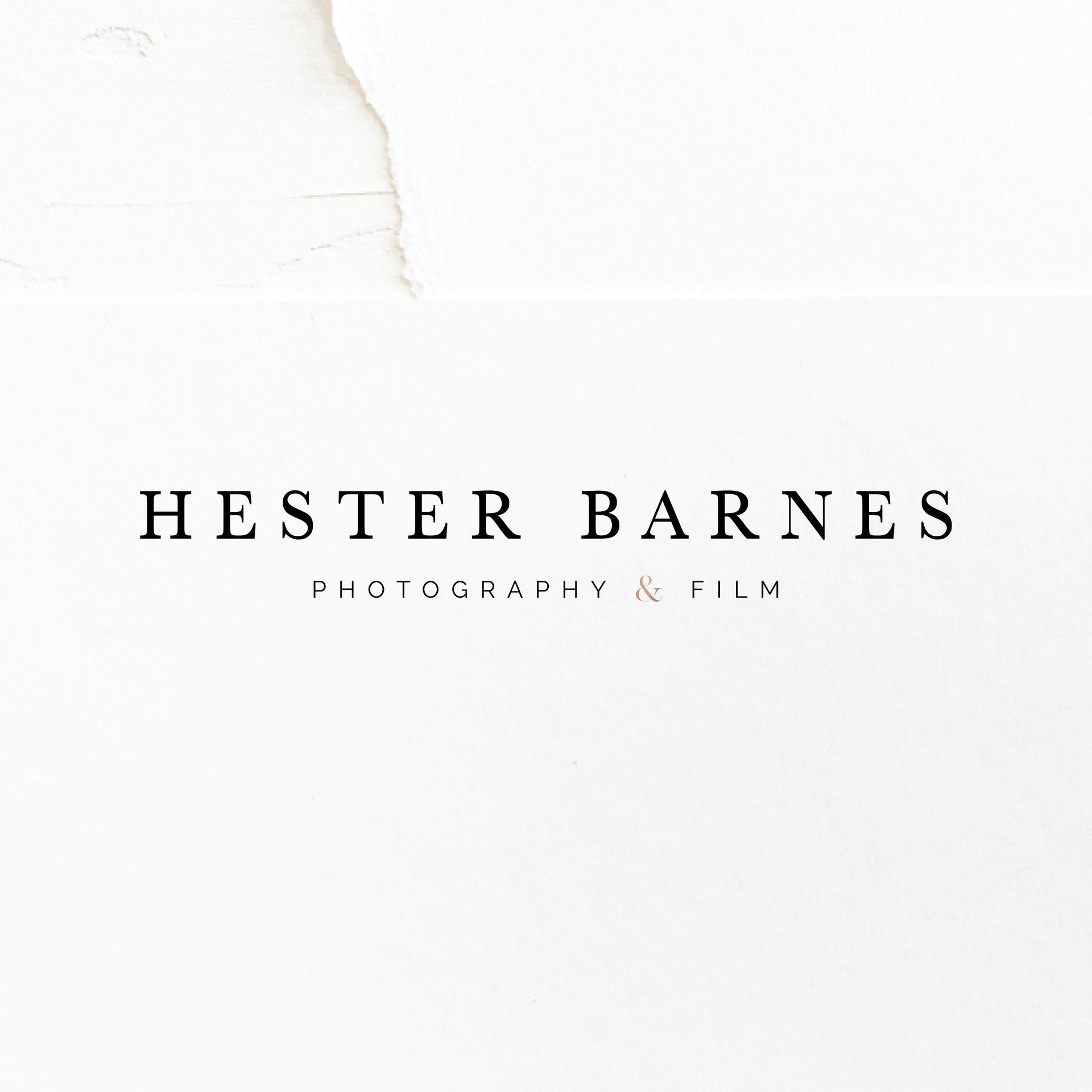 Hester Photographer Branding | Brand Identity Design by Fresh Leaf Creative