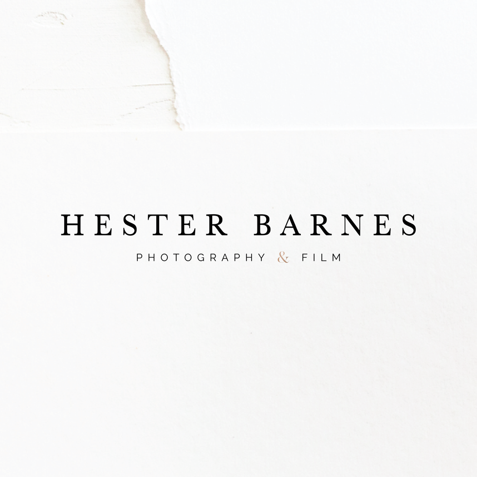 Hester Photographer Branding | Brand Identity Design by Fresh Leaf Creative | Dorset Brand Designer & Photographer