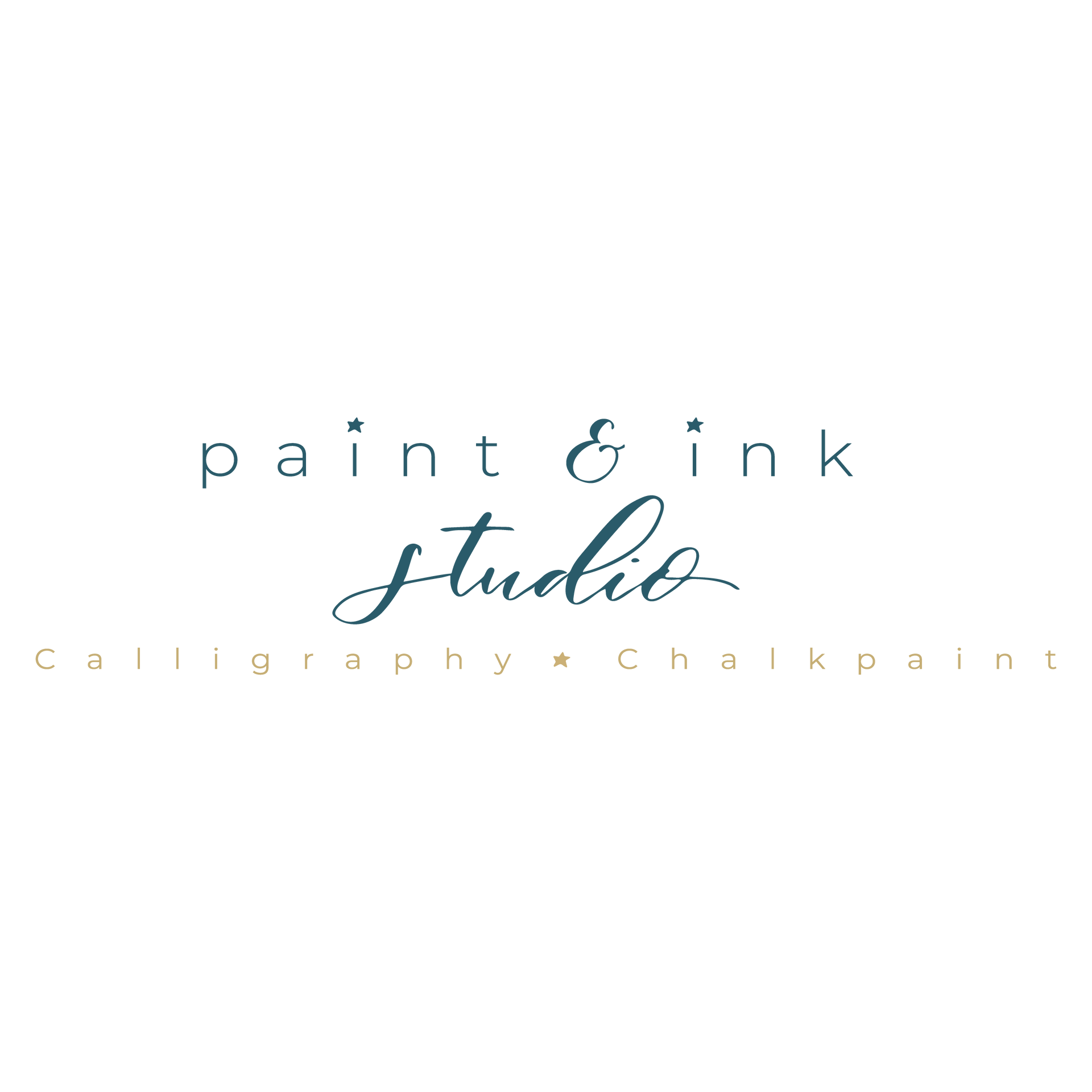 Calligrapher Branding | Brand Identity Design by Fresh Leaf Creative