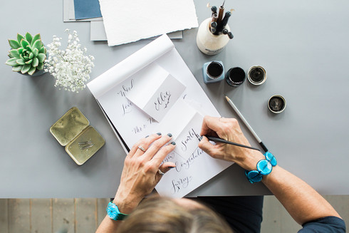 Calligraphy Photography | Paint & Ink Studios