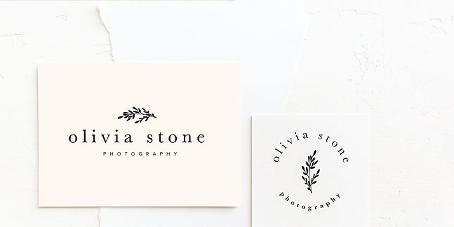 Photographer Logo & Brand Design | Minimal, Classic Premade Branding Kits for Female Business Owners For Instant Impact | Fully Customised For Colour Palette and Company Details
