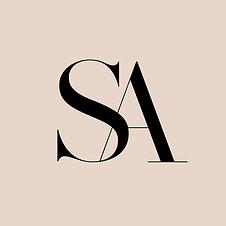 Elegant Editorial Monogram | Logo & Branding Kit for female business owners | Premade Branding Kits for Female Business Owners Customised for your Details & Palette | Fresh Leaf Creative