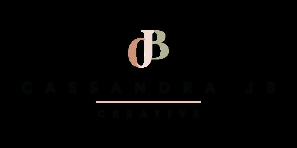 Cassandra JB Branding | Brand Identity Design by Fresh Leaf Creative | Dorset Brand Designer & Photographer