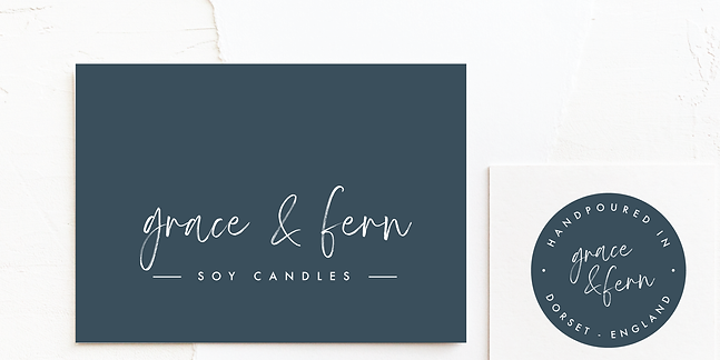 Candle Company Logo & Brand Design | Minimal, Classic Premade Branding Kits for Female Business Owners For Instant Impact | Fully Customised For Colour Palette and Company Details