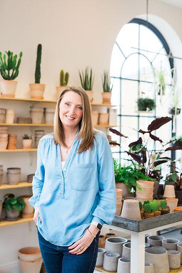 Lucy of Fresh Leaf Creative | Dorset Personal Brand Photographer & Brand Identity Designer