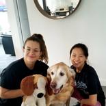 Ana et Xià avec Chinook