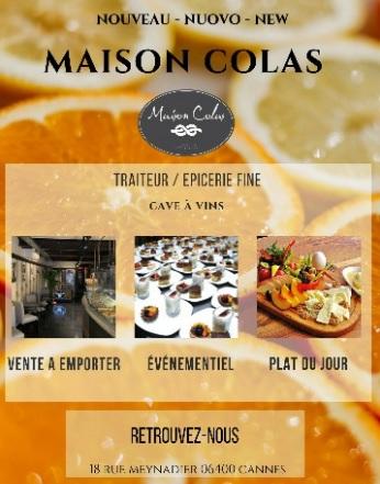 Maison Colas - Cannes