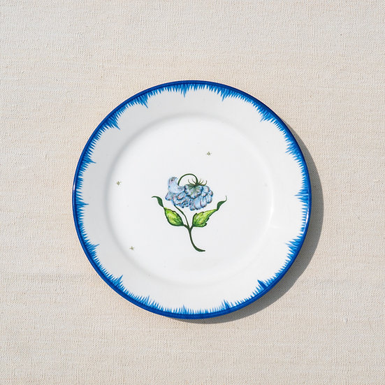Hand Painted Dinner Plate