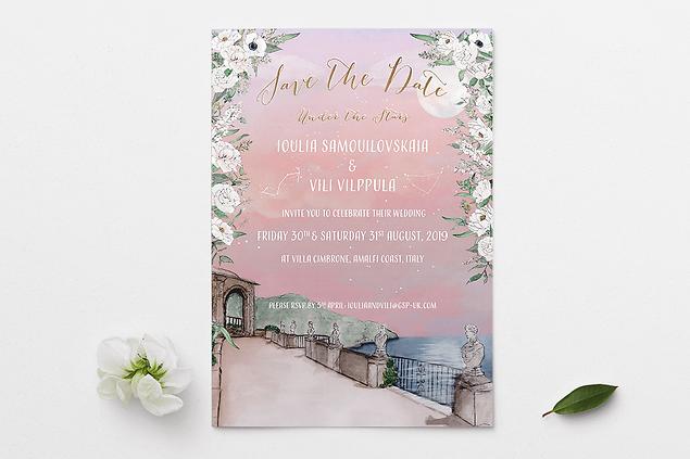 WEDDING INVITATION - DIGITAL