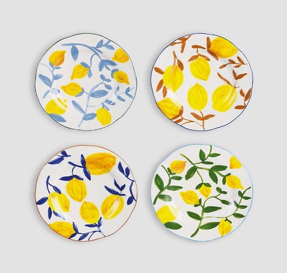 Assorted Lemon Plates