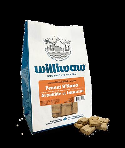 Williwaw Peanut B'Nana 340g.png