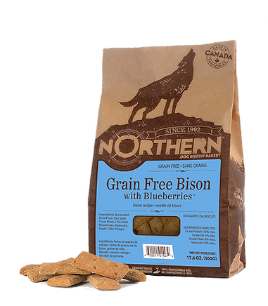 Northern Bison with Blueberries 500g.png