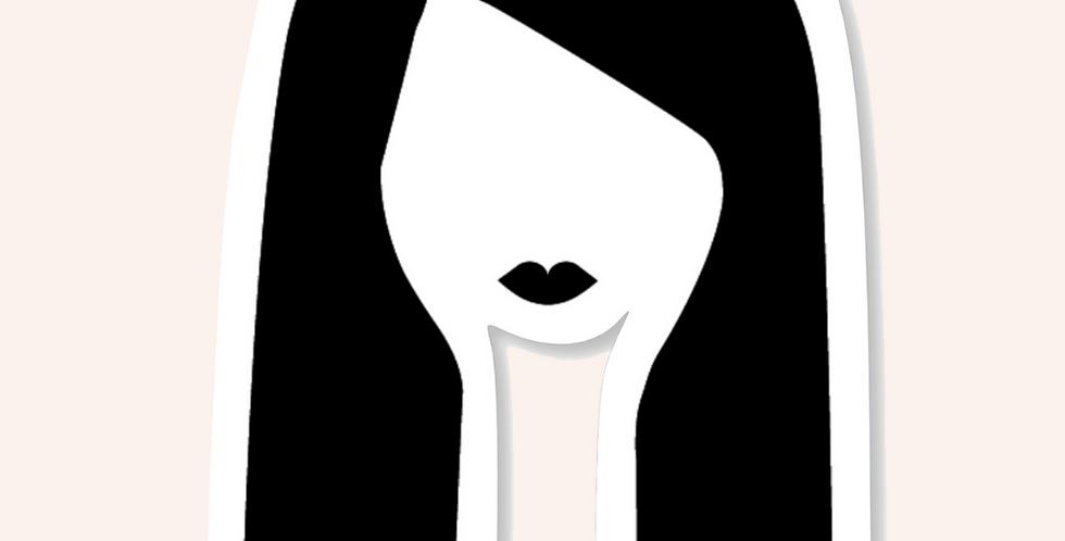 'IT' Girl Sticker