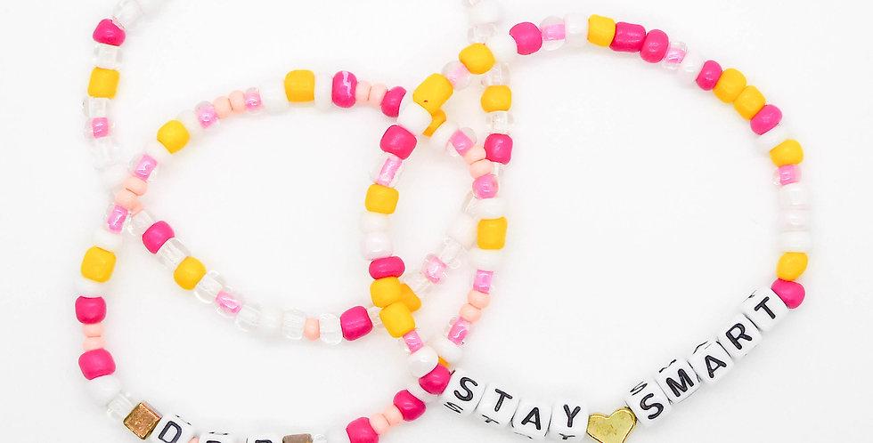 DBD + Stay ❤️ Smart + Accent' bracelet