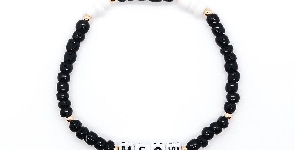 '🖤 Meow 🖤' bracelet