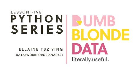 DBD Python Basics Lesson Five Intro.png